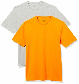 Amazon Essentials Men's Standard 2-Pack Slim-Fit Crewneck T-Shirt