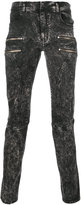 Faith Connexion bleached effect zipped skinny jeans - men - Cotton/Spandex/Elastane - 29
