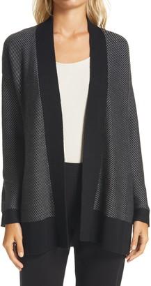 Eileen Fisher Shawl Collar Wool Cardigan