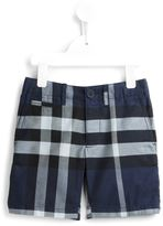 Burberry check shorts - kids - Cotton - 7 yrs