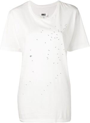 MM6 MAISON MARGIELA connect the dots T-shirt