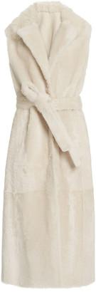 Yves Salomon Paris Belted Fur Vest