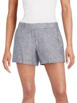 Max Studio Linen Shorts