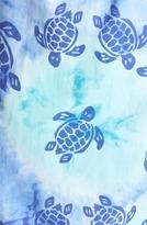 Vilebrequin 'Moorea' Tie Dye Turtle Print Swim Trunks