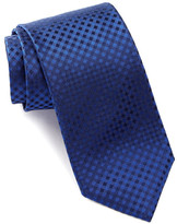 HUGO BOSS Silk Check Tie