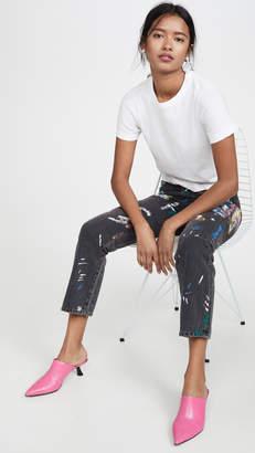 Simon Miller Splatter Paint Jeans