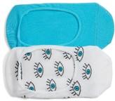 Women's Sockart Assorted 2-Pack Liner Socks