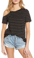 BP Women's Asymmetrical Cold Shoulder Tee