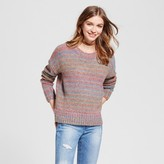 Mossimo Women's Pullover Sweater Ombre Pink