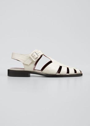 Womens White Fisherman Sandals | Shop
