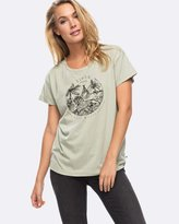 Roxy Womens Alex Palm Tiger Squad T Shirt