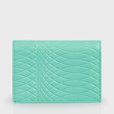 Paul Smith No.9 - Mint Green Leather Credit Card Wallet