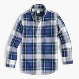 J.Crew Kids' oxford shirt in plaid