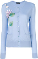 Dolce & Gabbana floral embroidered cardigan - women - Silk/Cashmere - 42