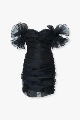 Forever 21 Organza Off-the-Shoulder Dress