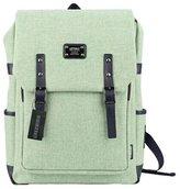 Greeniris Ladies linen Rucksack School Bag Fashion Backpack for Women and Teenage Girl