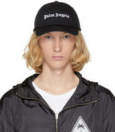 Palm Angels Black Logo Cap
