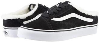 Vans Old Skool Mule Sherpa (Black) Skate Shoes