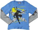 City Threads Ninja Attack 2Fer (Toddler/Kid) - Bright Blue-2T