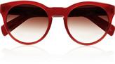 Oliver Peoples Alivia round-frame acetate sunglasses