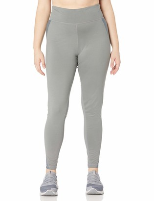 Fruit of the Loom Fit for Me Women's Plus Size Breathable Mesh Pieced Legging