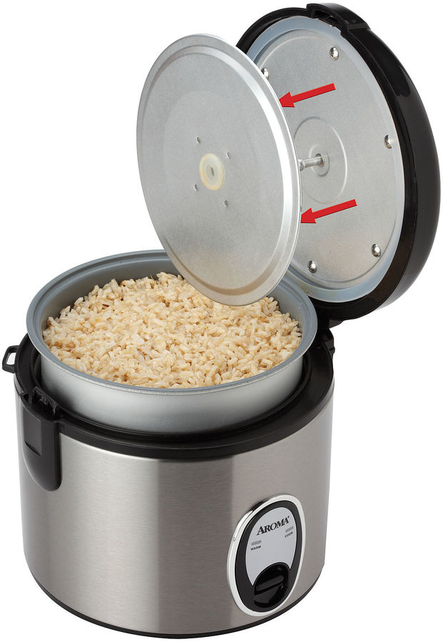 JCPenney Aroma 8-Cup Stainless Steel Rice Cooker