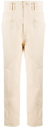 Isabel Marant Cotton Straight-Leg Trousers