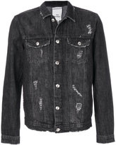 Won Hundred distressed denim jacket