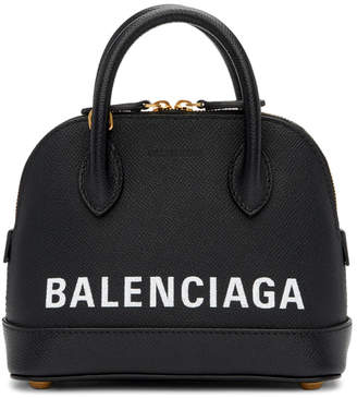 Balenciaga Black XXS Ville Top Handle Bag