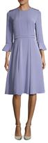 Prabal Gurung Silk Flared Skirt Dress