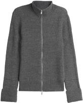 Maison Margiela Zipped Cardigan with Wool