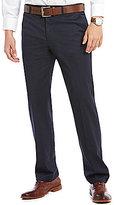 Murano Alex Modern Slim Fit Flat-Front Textured Pants