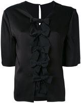 Fendi bow blouse - women - Silk/Acetate/Viscose - 42