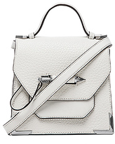 Mackage Rubie Small Crossbody in White.