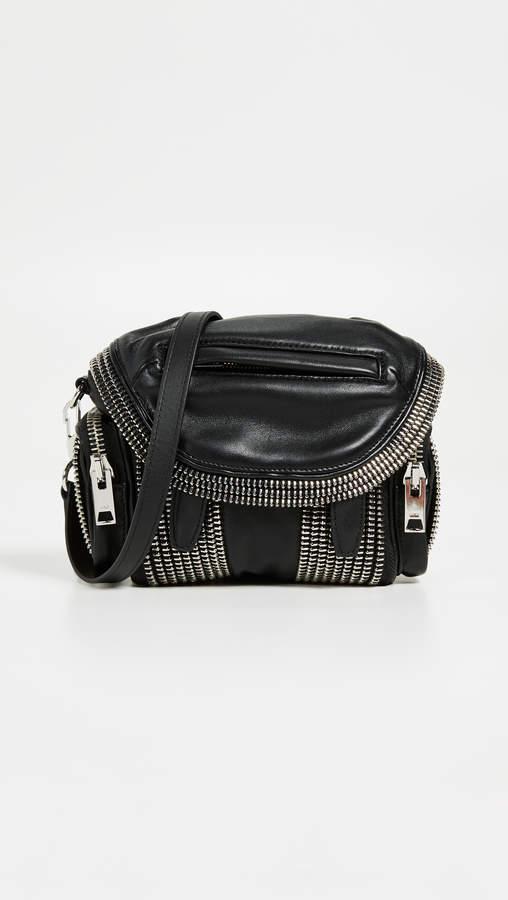 Alexander Wang Micro Marti Layered Zipper Crossbody Bag