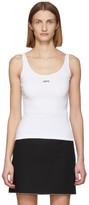 Off-White Off White White Rib Tank Top