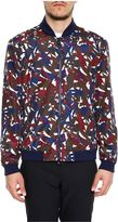 Z Zegna Printed Nylon Jacket