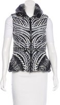 Peter Pilotto Printed Puffer Vest