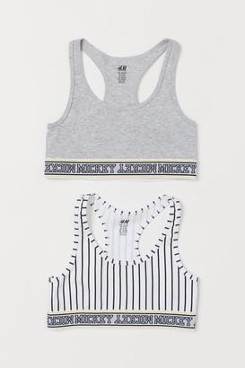 H&M 2-pack Tops - White