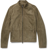 Michael Kors Perforated Suede Jacket