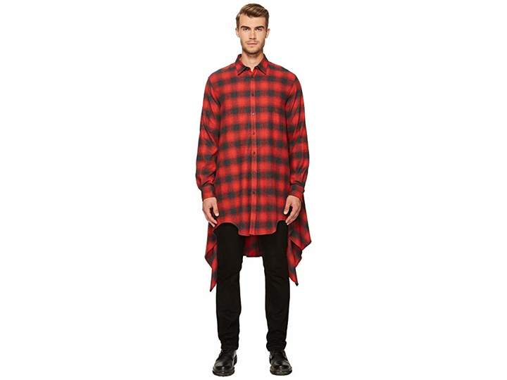 DSQUARED2 Grunge Blanquet Shirt Men's Clothing