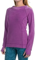 Eddie Bauer Textured Fleece Hoodie (For Women)