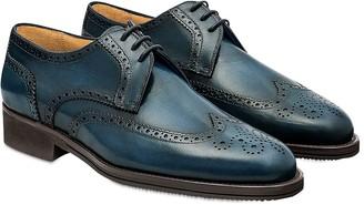 Pakerson Blue Pisa Derby Shoe
