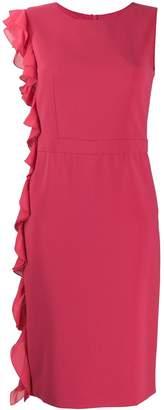 Moschino side frill dress