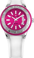 Jacques Lemans Miami 1-1784E 50mm Stainless Steel Case Silicone Mineral Men's & Women's Watch