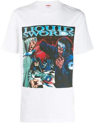 Supreme liquid swords T-shirt
