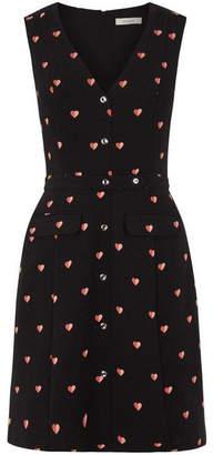 Oasis Bon bon button shift dress