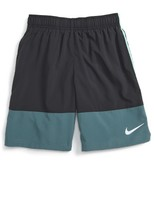 Nike Boy's 'Distance - Colorblock' Dri-Fit Running Shorts