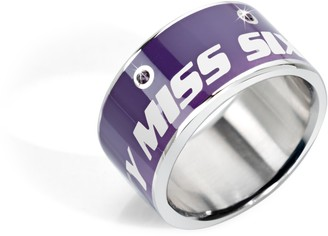 Miss Sixty Smgq08018 Steel Ring Size R