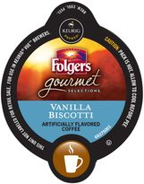Vue VueTM Pack 16-Count Folgers Gourmet Selections® Vanilla Biscotti Coffee for Keurig Brewers
